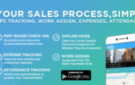 Newly Developed App to Organize your Sales Team